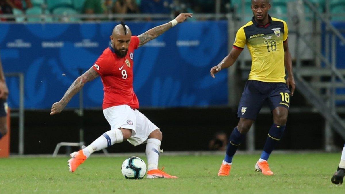 Копа Америка: Чили минимально победил Эквадор и досрочно вышел из группы