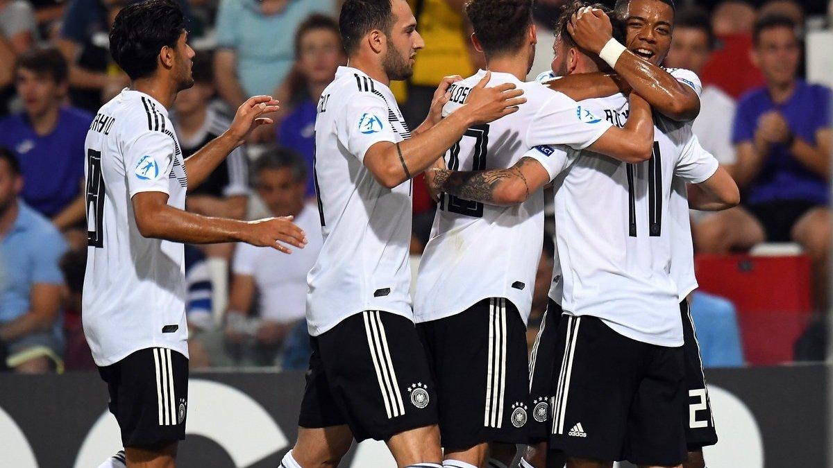 Євро-2019 U-21: Німеччина не перемогла Австрію, але вийшла у півфінал, Данія з Дуелундом здолала Сербію