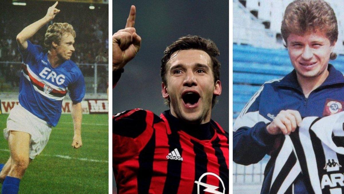 Від Заварова до Шахова: всі українці, які потрапляли у клуби Серії А