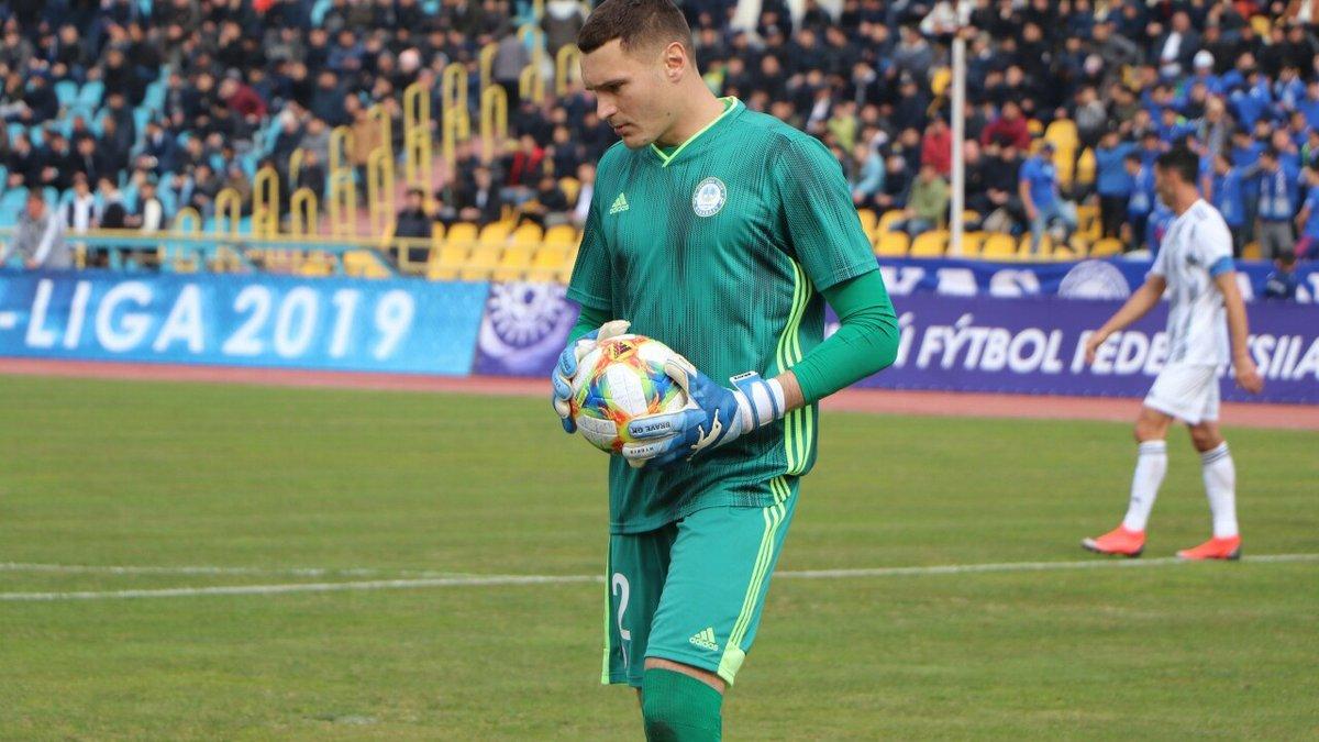 Непогодов визнаний найкращим голкіпером чемпіонату Казахстану