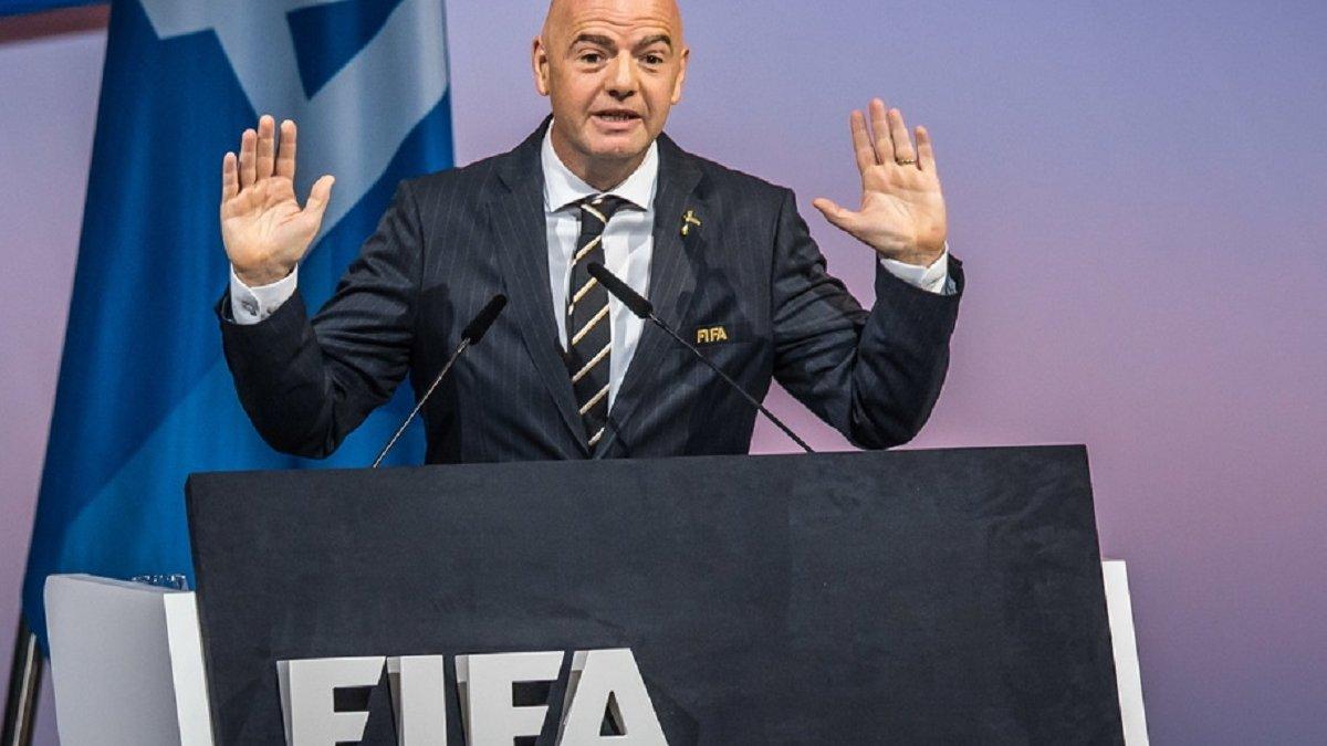 ФИФА не поддерживает ни один проект закрытой клубной Суперлиги, – Инфантино