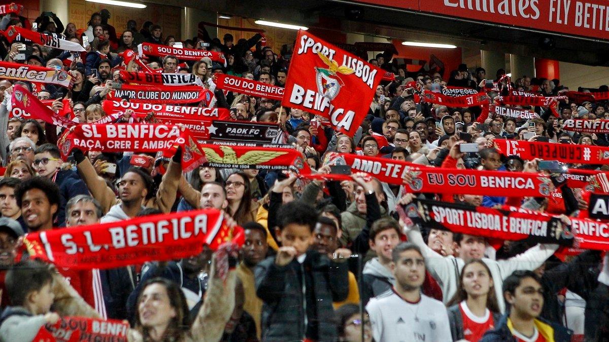 Бенфика собрала 20 тысяч фанов на первой тренировке в новом году – атмосферное видео от соперника Шахтера