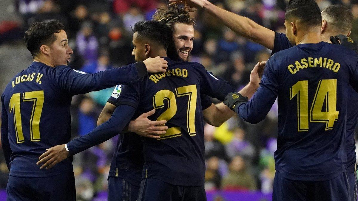 Гол Начо, который сделал Реал единоличным лидером, в видеообзоре матча против Вальядолида