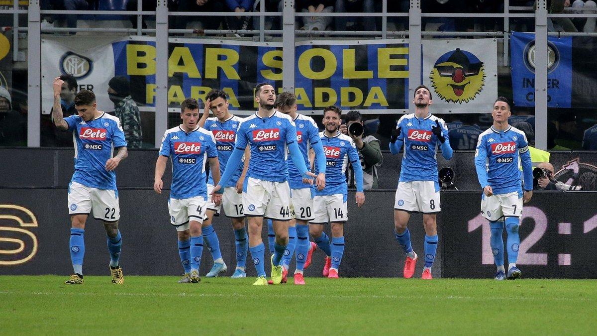 Интер – Наполи – 0:1 – видео гола и обзор матча