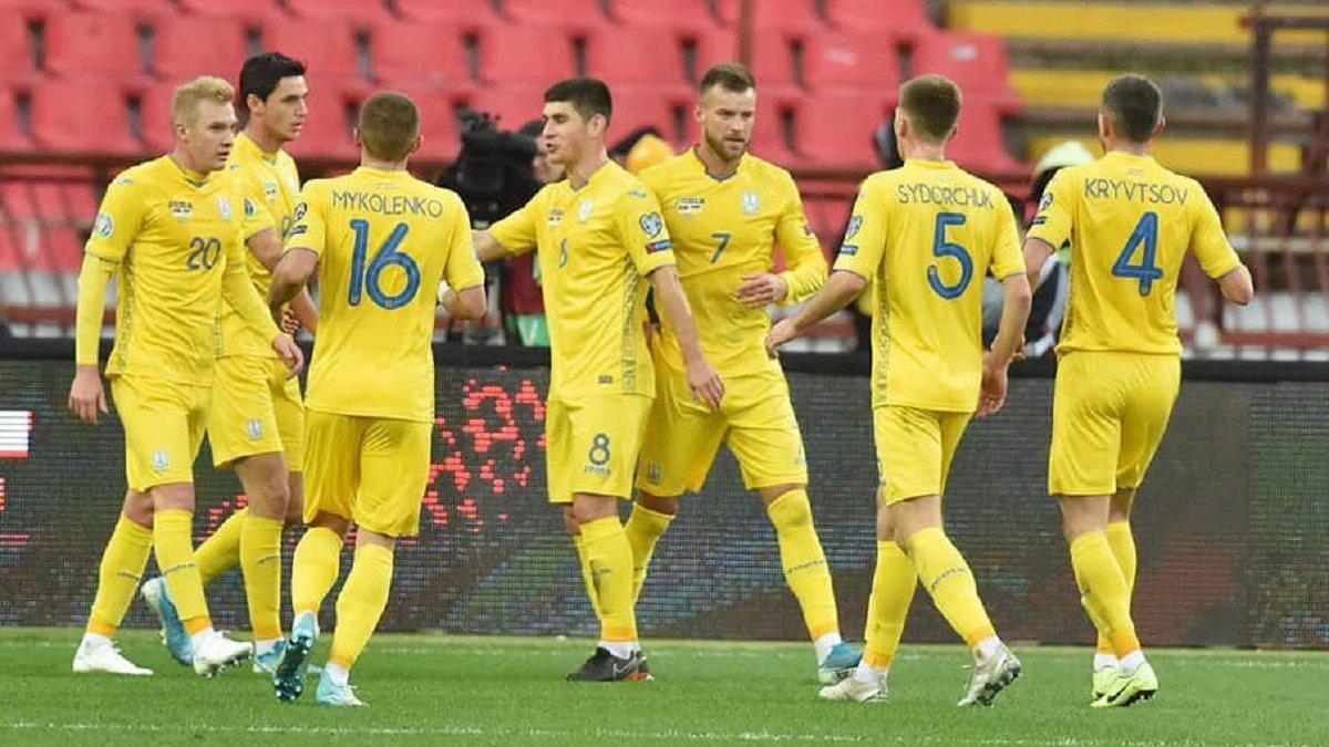 Україна зберегла місце у топ-25 оновленого рейтингу ФІФА