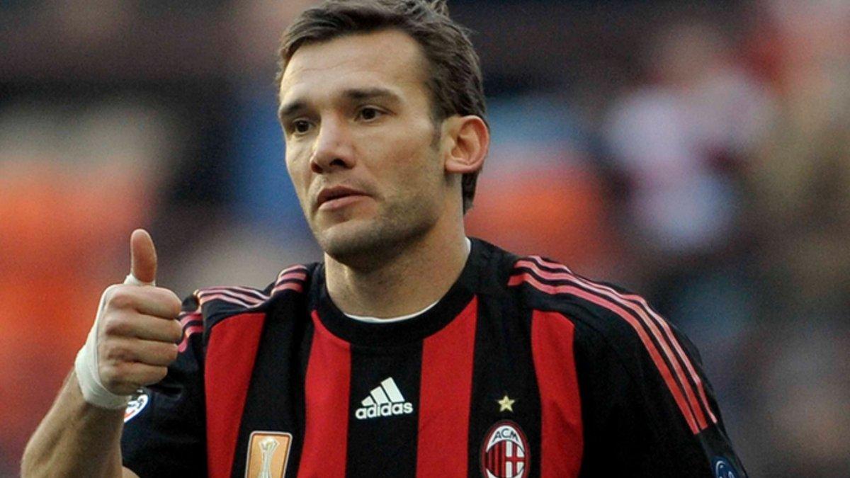УЕФА вспомнил шедевры Шевченко в Милане эффектным видео