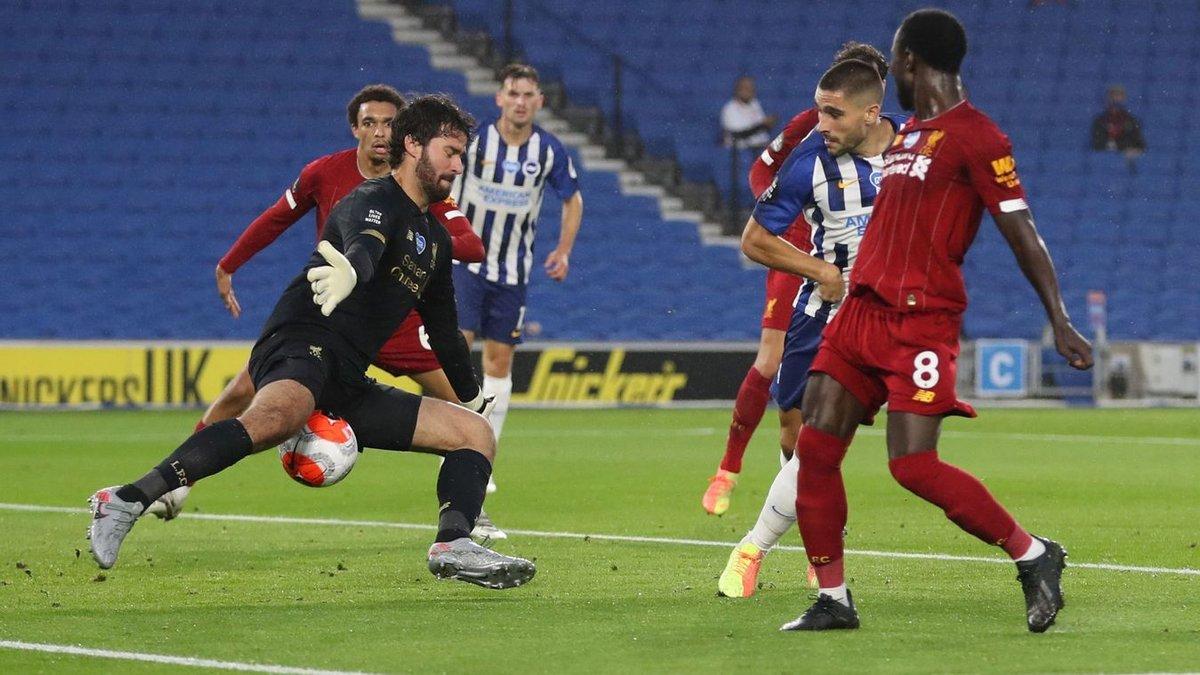 Ліверпуль впевнено переграв Брайтон, Шеффілд Юнайтед у доданий час вирвав перемогу у Вулверхемптона: 34 тур АПЛ, середа