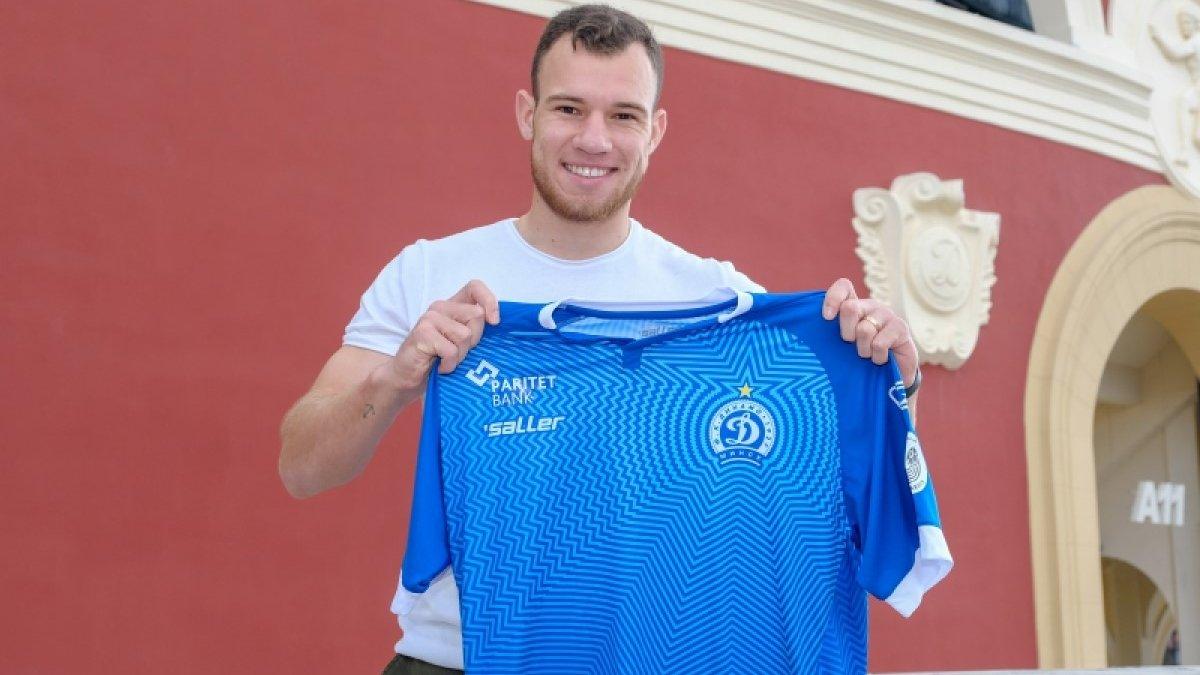 Силас официально стал игроком минского Динамо