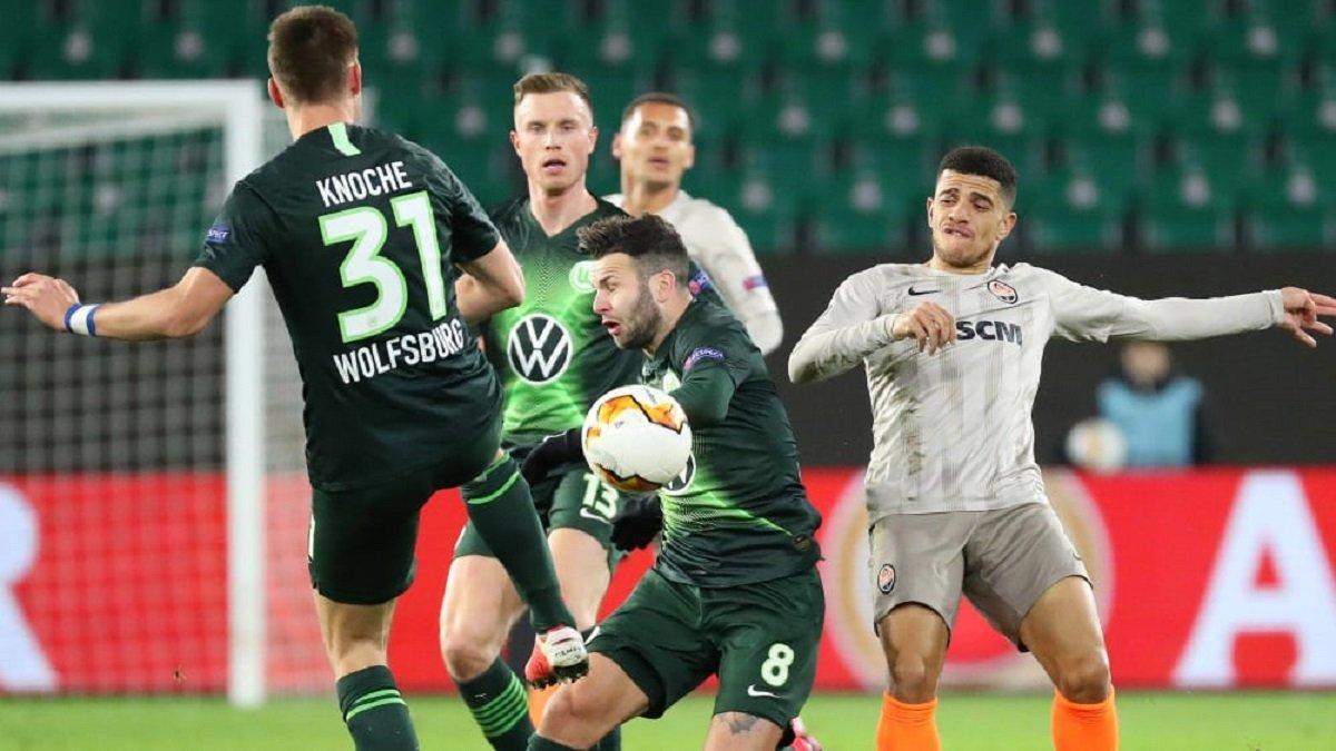 Шахтар – Вольфсбург: німці обурилися рішенням УЄФА провести матч в Україні