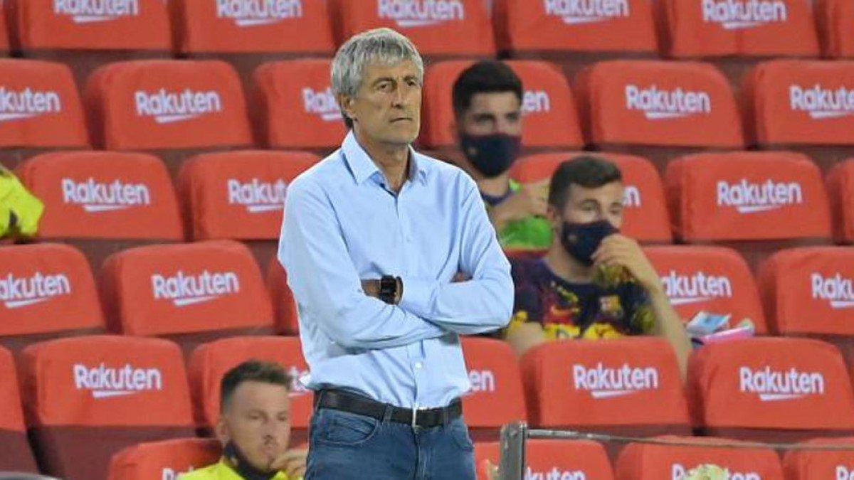 """""""Многое может случиться в футболе"""": Сетьен– о шансах Барселоны на чемпионство"""