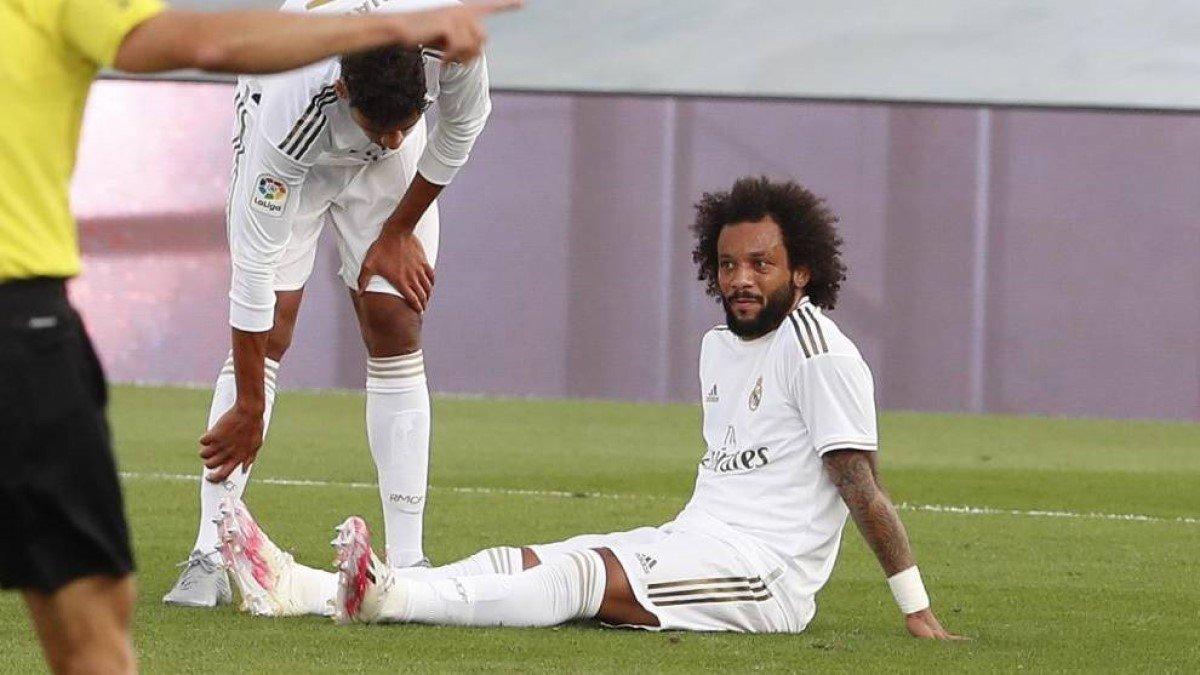 Марсело выбыл до конца сезона Ла Лиги, но имеет шанс восстановиться к матчу с Манчестер Сити