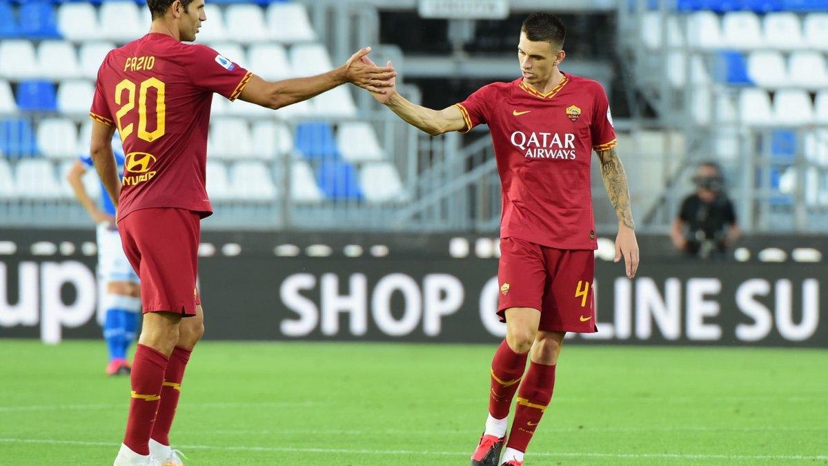 Рома разгромила Брешию, Лацио потерпел третье поражение подряд, приблизив Ювентус к чемпионству