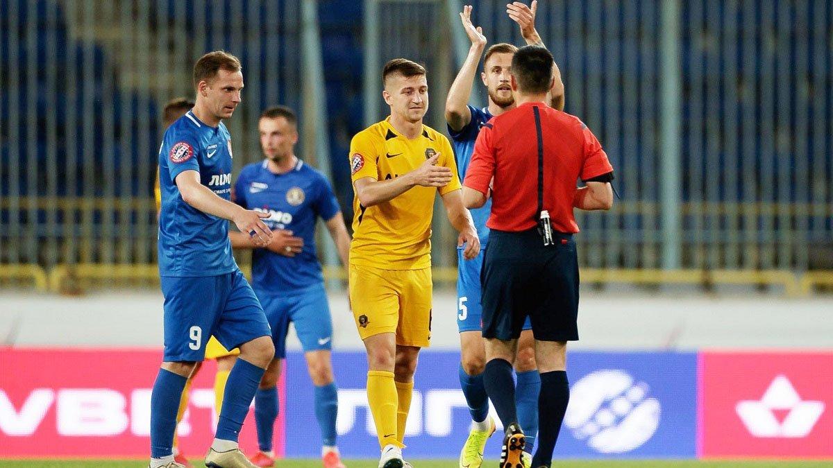 СК Днепр-1 оформил феерический камбэк со Львовом – днепровцы победили после 0:2 в матче с удалением и отменённым голом