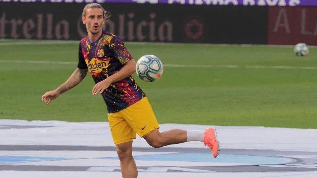 Грізманн зазнав пошкодження в матчі з Вальядолідом – француз ризикує пропустити залишок сезону