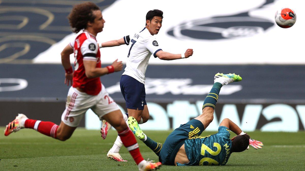 Пушка Ляказетта и провалы оборон в видеообзоре матча Тоттенхэм – Арсенал – 2:1