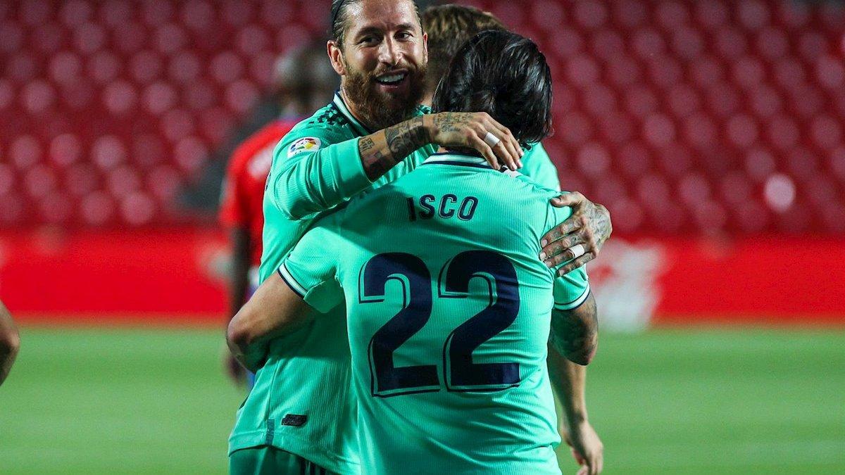 Рамос не спішить віддавати кубок Ла Ліги Реалу після перемоги над Гранадою