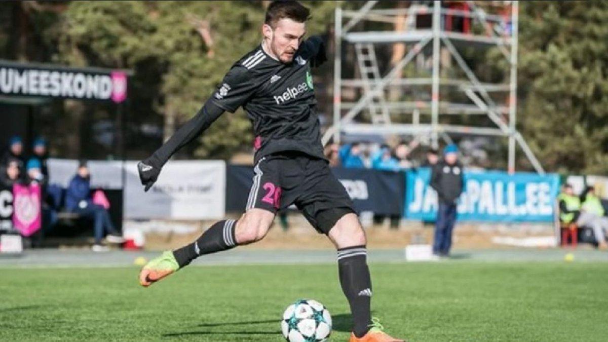 Экс-защитник Карпат попал в сборную тура чемпионата Эстонии