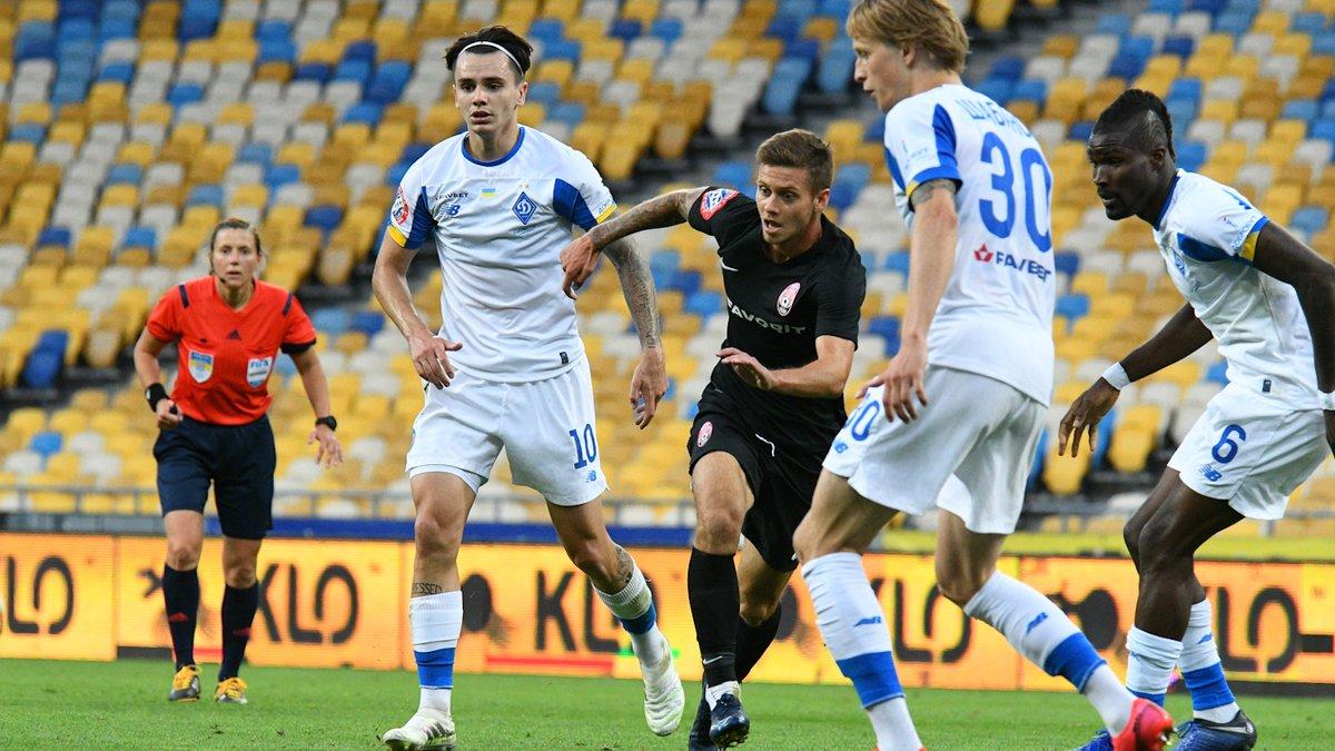 Динамо – Зоря: Шапаренко назвав одноклубника, який додав упевненості грі киян