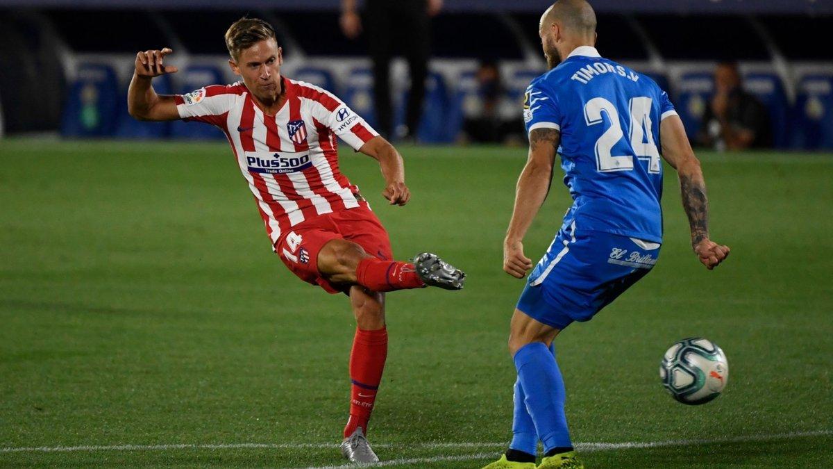Атлетико одолел Хетафе, Леванте переиграл Сельту, Мальорка уступила Гранаде и вылетела из Ла Лиги