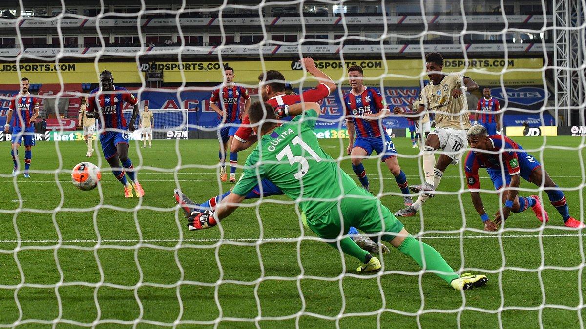 Кристал Пэлас – Манчестер Юнайтед – 0:2 – видео голов и обзор матча