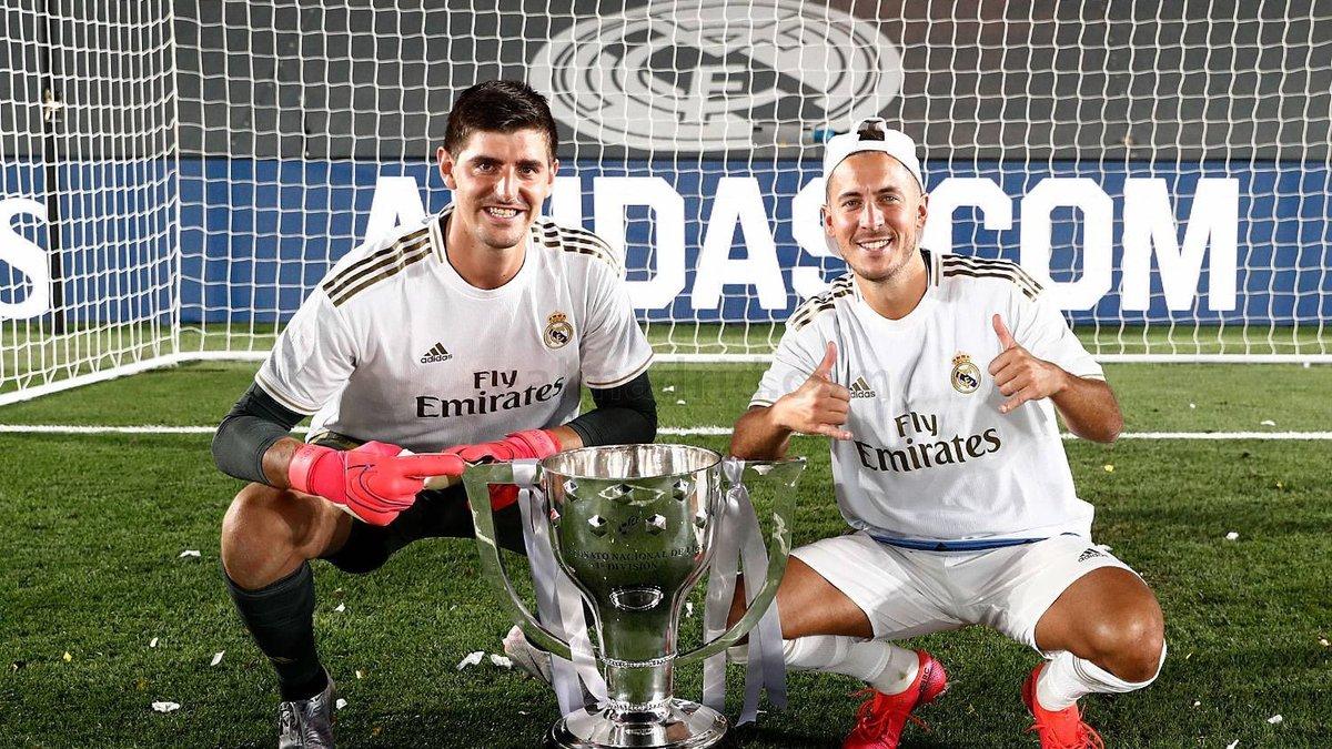 Куртуа повторив історичне досягнення, ставши чемпіоном Іспанії у складі Реала