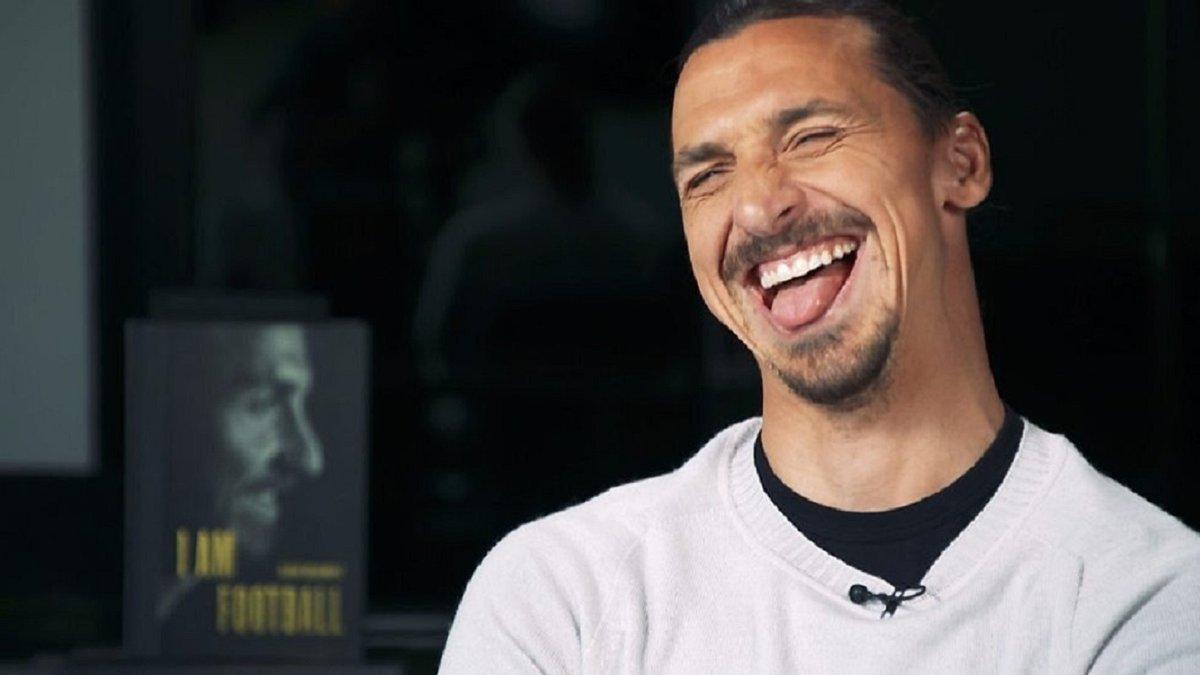 Ибрагимович поиздевался над игроками Милана на вручении награды – Мальдини не сдержал смеха