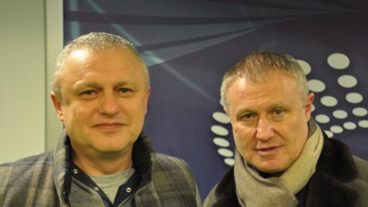 Григорий Суркис пообщался со Скрипником о возможном сотрудничестве после матча Динамо и Зари, – СМИ