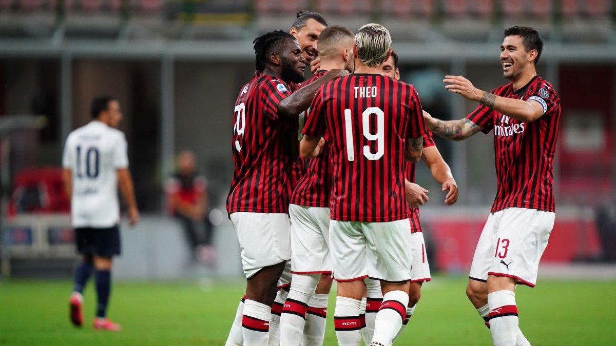 Ошибка голкипера и шикарный гол в девятку в видеообзоре матча Милан – Болонья – 5:1
