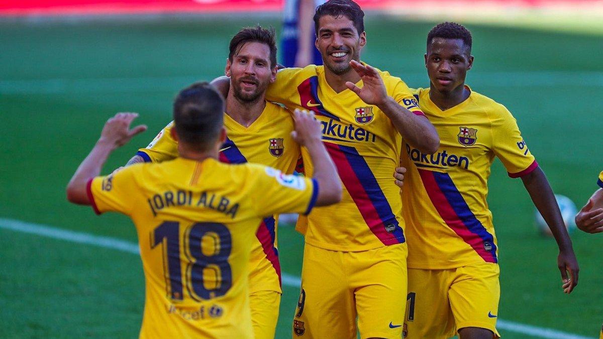 Алавес – Барселона – 0:5 – видео голов и обзор матча