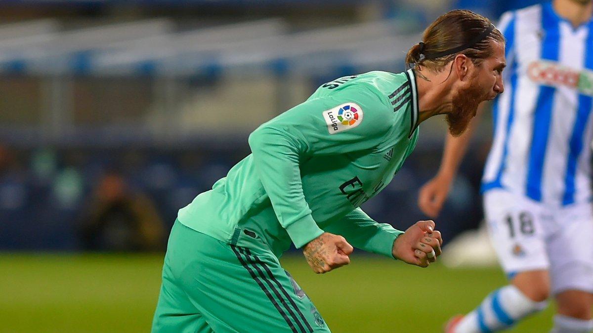 Серхио Рамос оформил 11 голов за сезон Ла Лиги – защитники не забивали столько более 25 лет