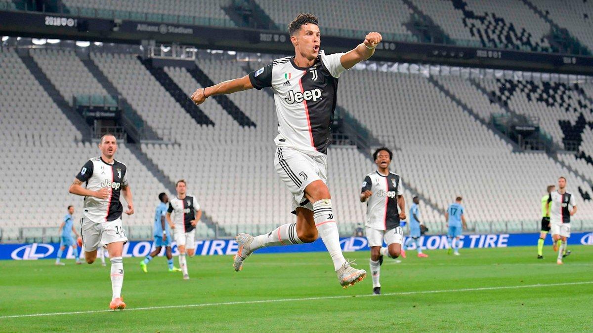 Ювентус – Лацио: Роналду бьёт рекорд Шевы и вместе с Иммобиле входит в историю, Дибала – крутой, а Саррибол – не очень