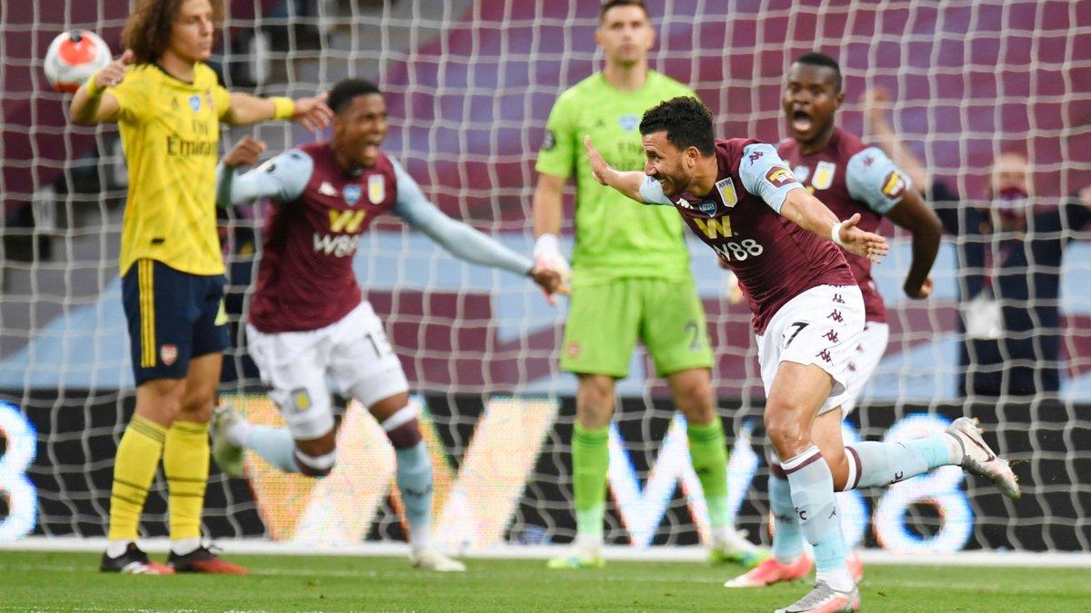 Астон Вилла минимально переиграла Арсенал и увеличила интригу в борьбе за выживание