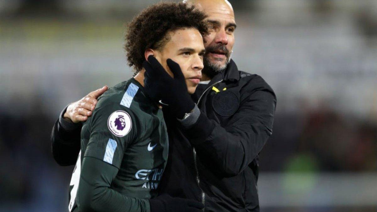 Сане прокомментировал отношения с Гвардиолой после ухода из Манчестер Сити