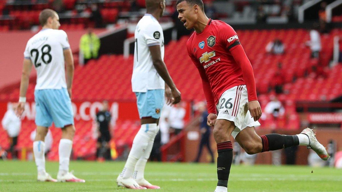 Манчестер Юнайтед – Вест Хэм: Гринвуд установил два исторических достижения в матче, став в один ряд с легендами