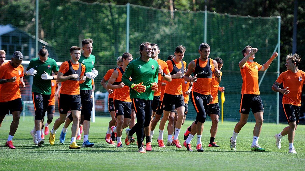 Шахтар проведе два щільні спаринги перед матчем Ліги Європи проти Вольфсбурга