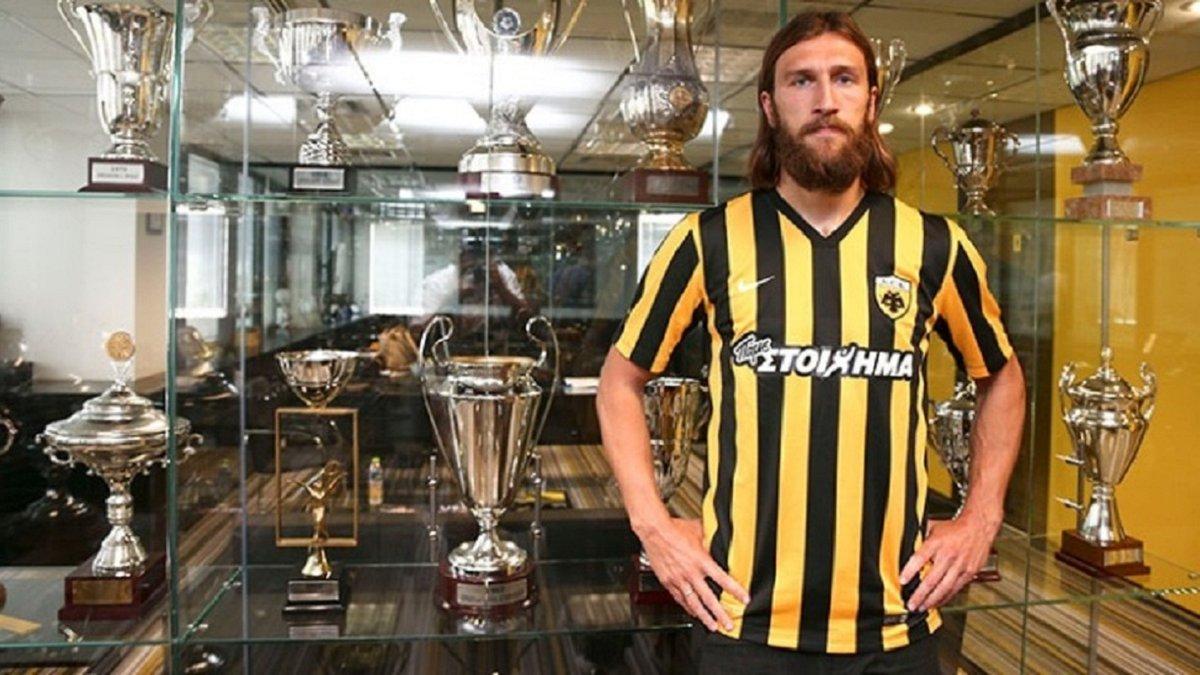 Чигринський зберігає надію зіграти у фіналі Кубка Греції