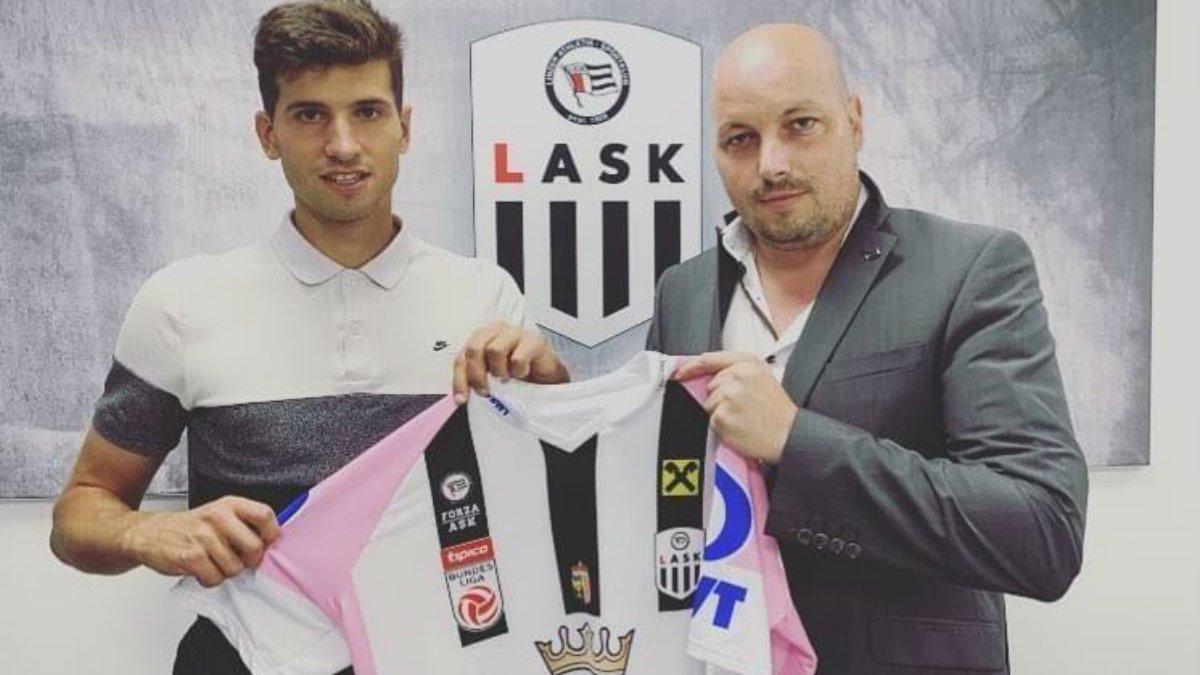 Чеберко офіційно представлений у статусі гравця ЛАСКа