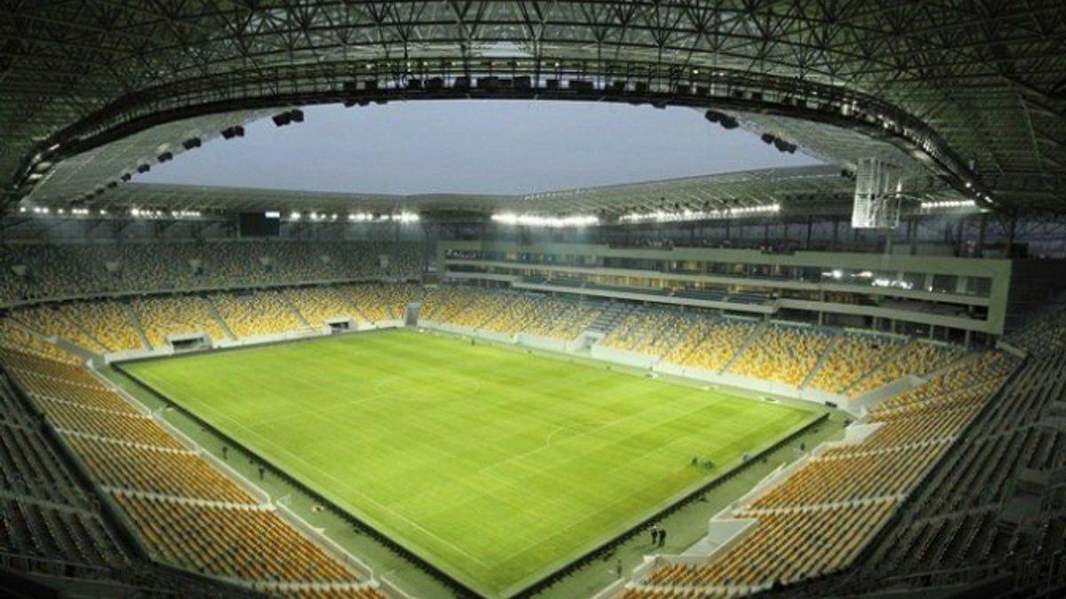 УАФ обнародовала список стадионов, разбитых на четыре категории – еврокубки смогут принять лишь шесть арен