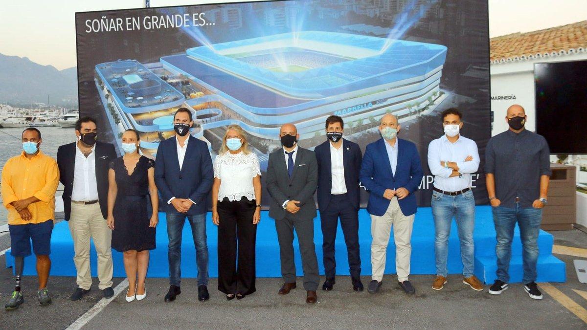 Клуб третього дивізіону Іспанії приголомшив проектом футуристичного стадіону