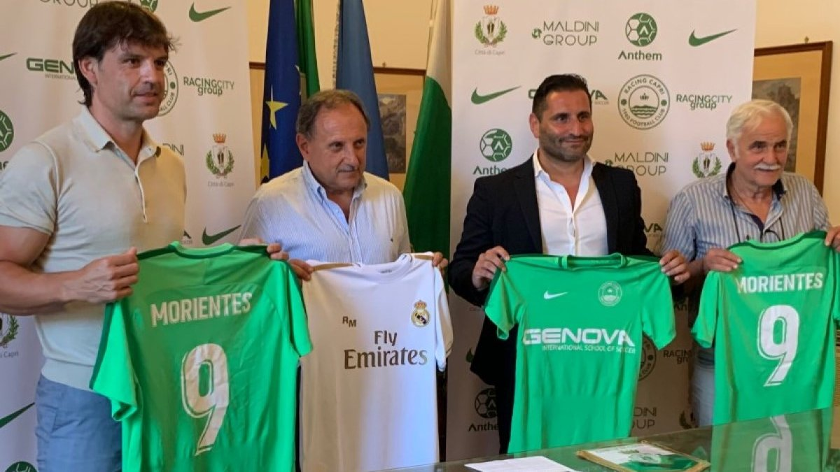 Легенда Реала Морьентес получил должность в итальянском клубе