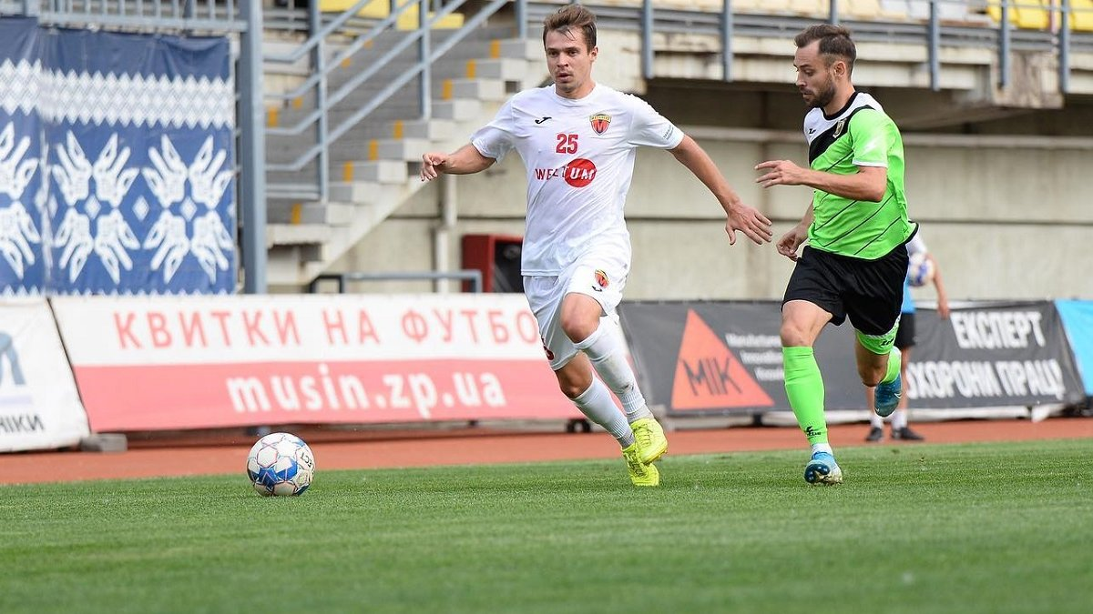 Первая лига: Черкащина благодаря роскошному голу прервала сумасшедшую серию поражений