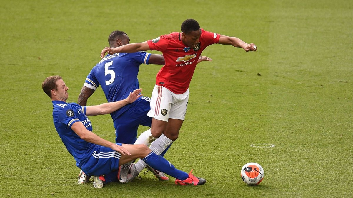 Решающий шаг Манчестер Юнайтед в Лигу чемпионов в видеообзоре матча против Лестера
