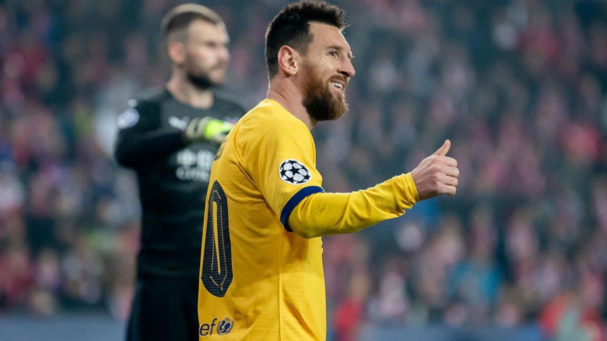 """Интер продолжает """"флиртовать"""" с Месси – аргентинец попал на символ Милана"""