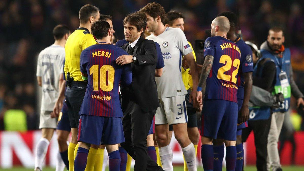 """""""Легше пересунути Дуомо, ніж підписати Мессі"""": Конте – про можливість трансферу лідера Барселони"""