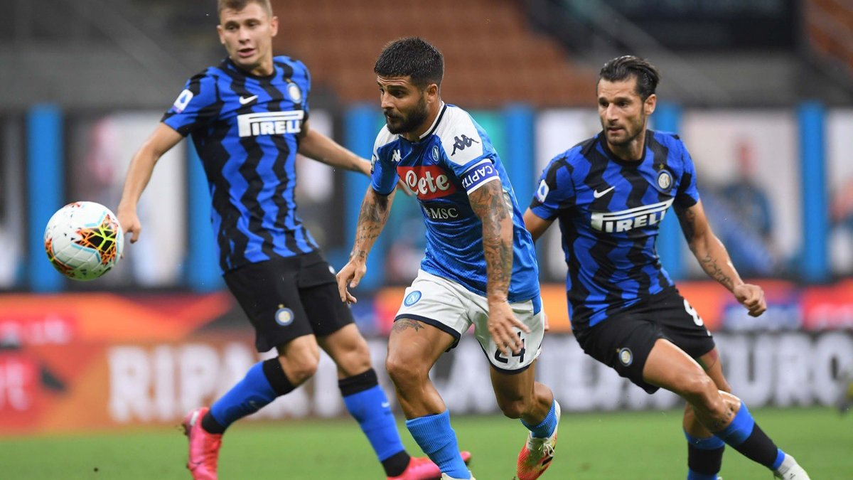Интер – Наполи – 2:0 – видео голов и обзор матча