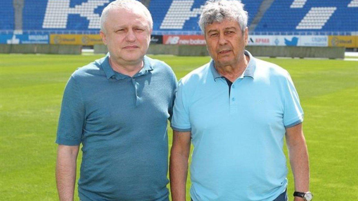 Суркис резко раскритиковал ультрас Динамо на презентации Луческу