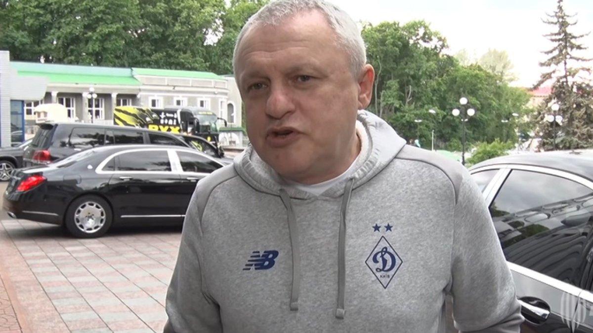 Луческу никогда не говорил плохого о Динамо и его болельщиках, – Суркис