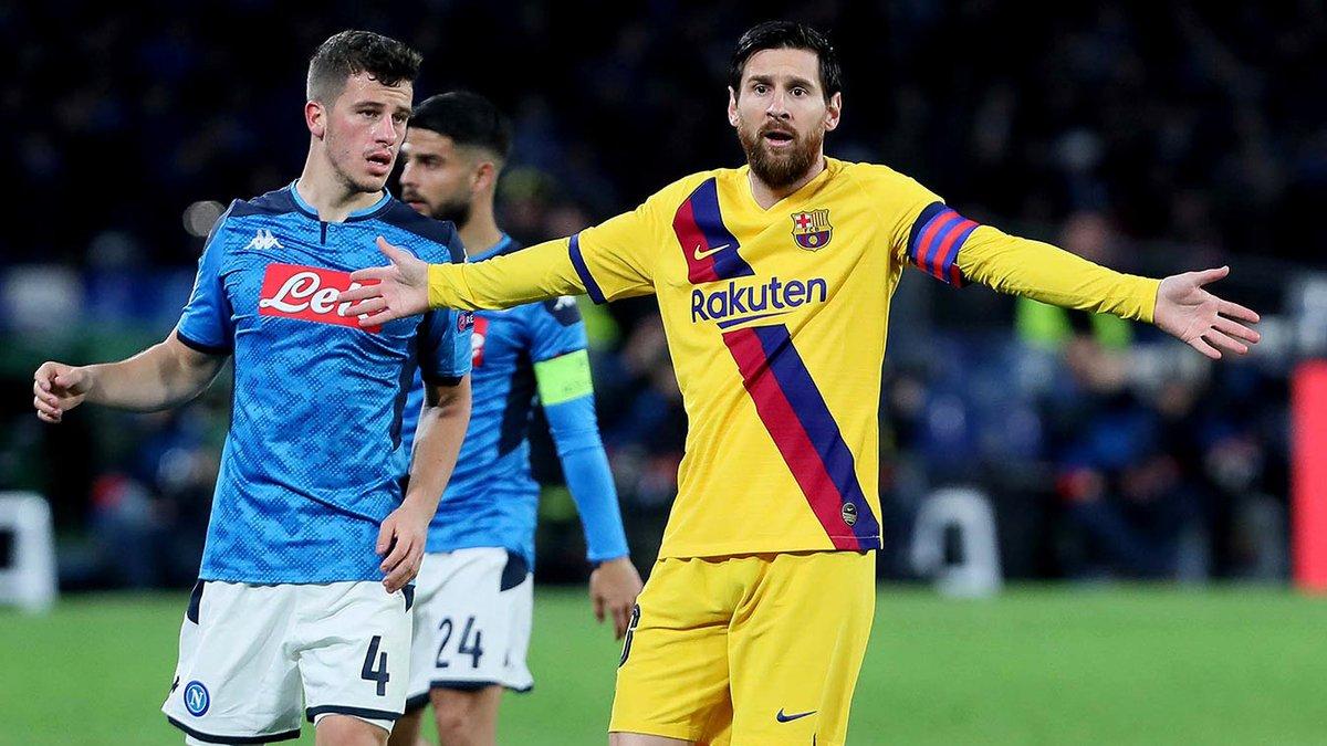 Наполі вимагає перенести матч з Барселоною на нейтральне поле – влада Каталонії вже відповіла УЄФА