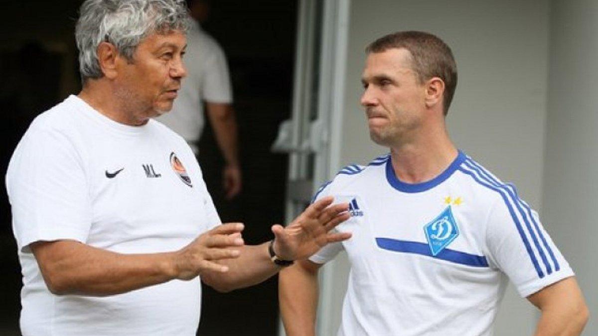 Ребров посетил базу Динамо в день презентации Луческу