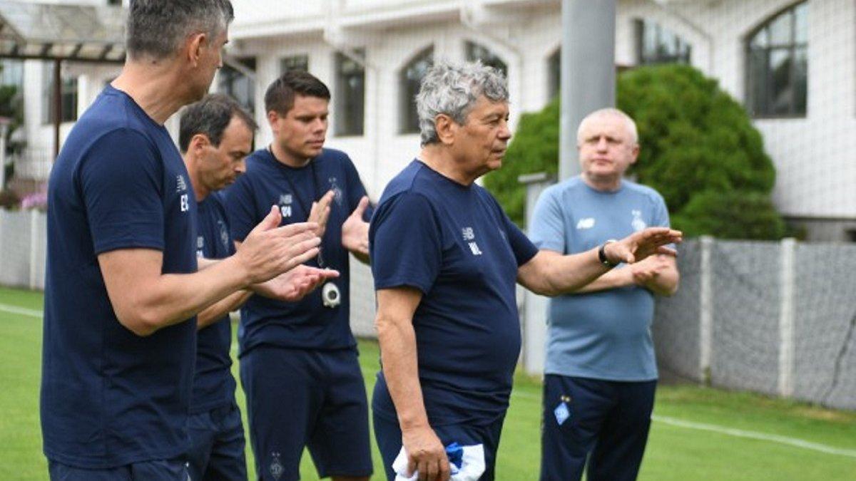 Луческу провів перше тренування в Динамо – з'явилися фото